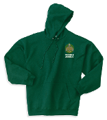 Hanes® Youth Comfortblend® -Hooded Sweatshirt-Deep Forest