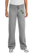Embroidered-Sport-Tek® Ladies Open Bottom Sweatpant