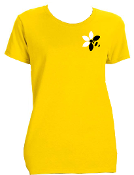 Kennebec Bee Keepers-Gildan® Ladies Heavy Cotton™ T-Shirt