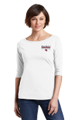 District Made® Ladies Perfect Weight® 3/4-Sleeve Tee