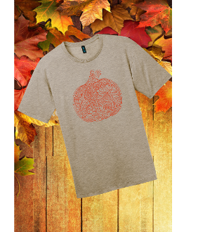 District ® Perfect Weight ® Tee Pumpkin Tee