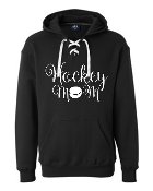 J. America - Sport Lace Hooded Sweatshirt-Hockey Mom