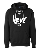J. America - Sport Lace Hooded Sweatshirt-Love