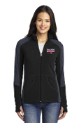 Port Authority® Ladies Colorblock Microfleece Jacket